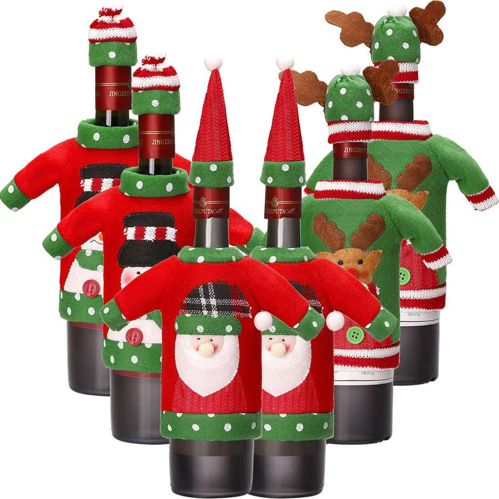 Garrafas Decoradas Para O Natal FOTOS26