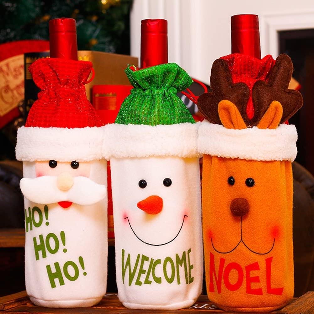 Garrafas Decoradas Para O Natal FOTOS7