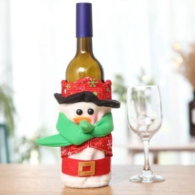 Garrafas Decoradas Para O Natal FOTOS8