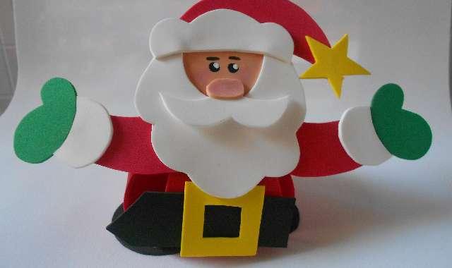 Papai Noel de EVA ► 67 MODELOS E FOTOS LINDOS!
