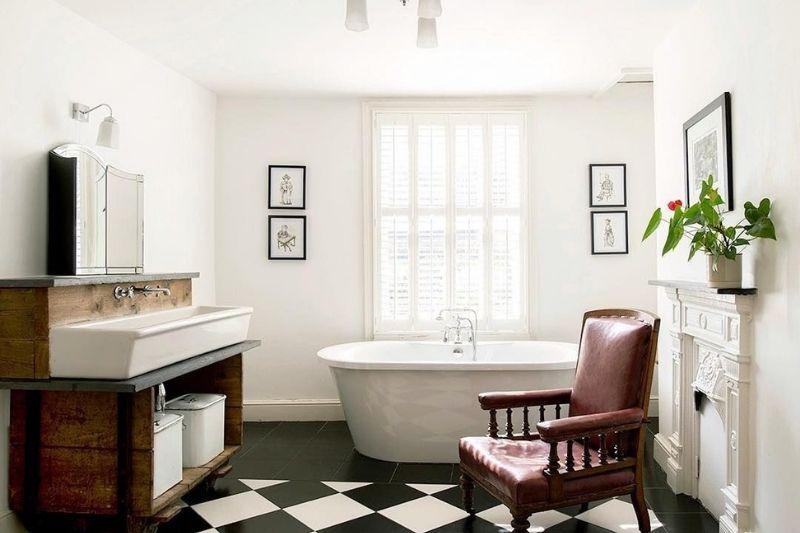 Pisos Para Banheiros Em P&B (4)