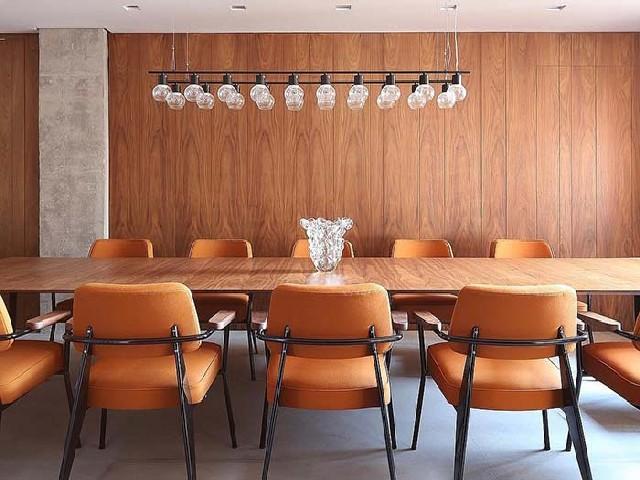 Sala De Jantar Estilo Clássico Retrô4