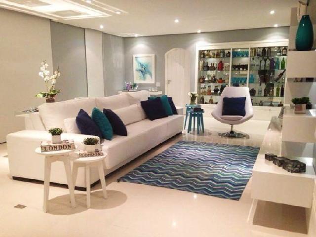 Sala Em Azul E Branco3