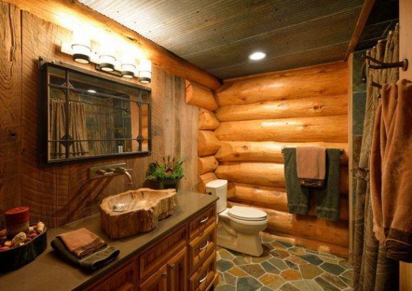 Banheiros Planejados Rústicos2