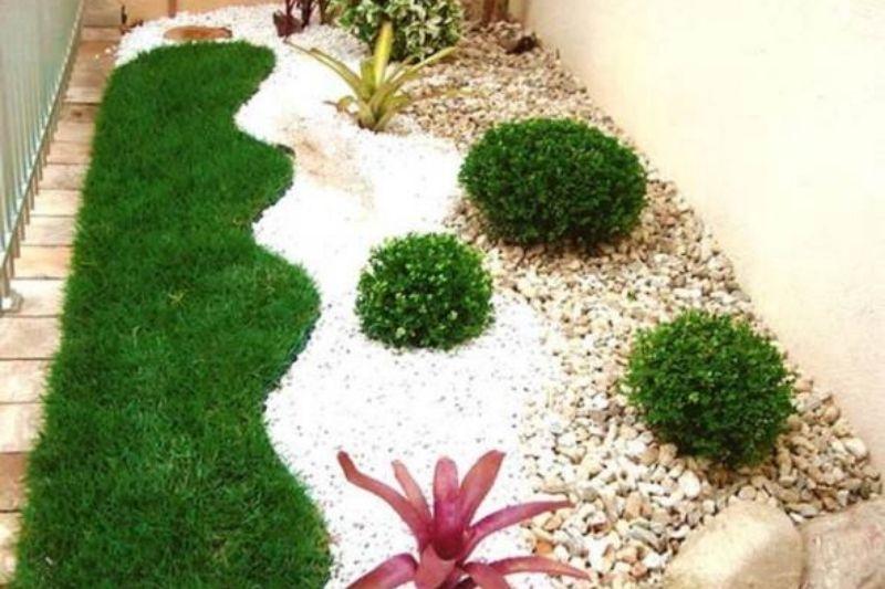 Canteiros Em Jardins Com Pedras (1)