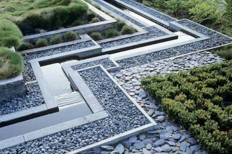 Canteiros Em Jardins Com Pedras (5)