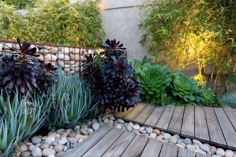 Cascalhos E Pedras Grandes Para Jardins (2)