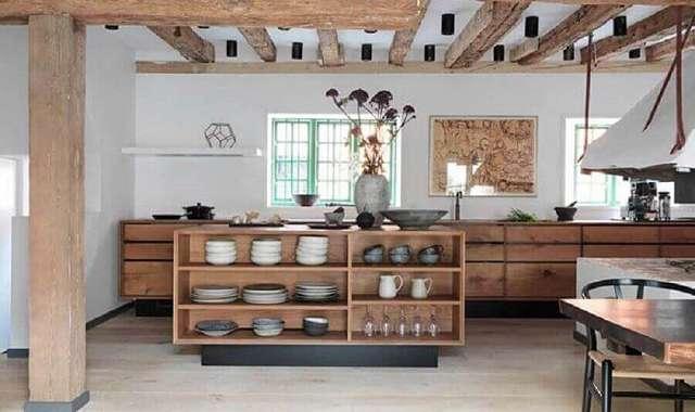 Cozinha Rústica – 50 FOTOS E DICAS RÚSTICAS!