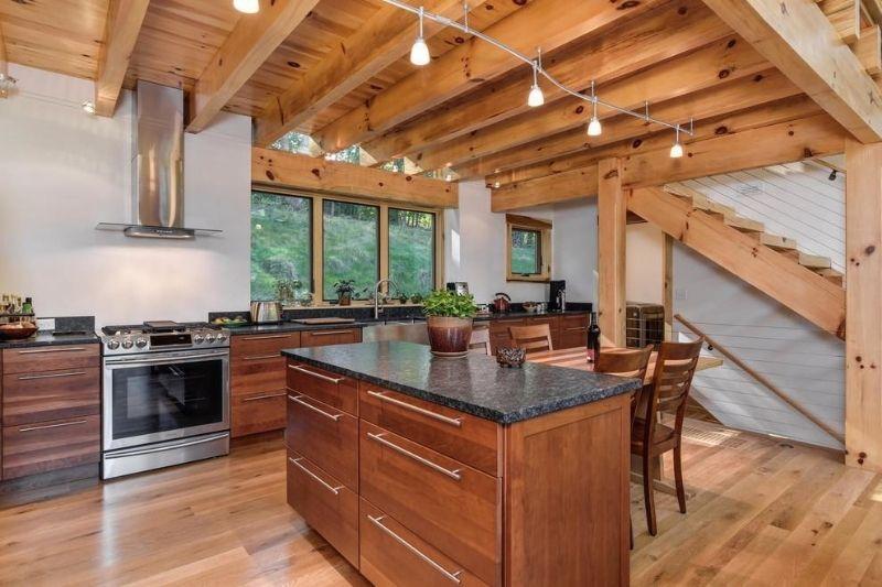 Cozinha Rústica Americana (1)