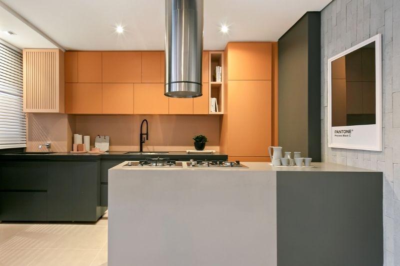 Cozinha Rústica Americana (3)