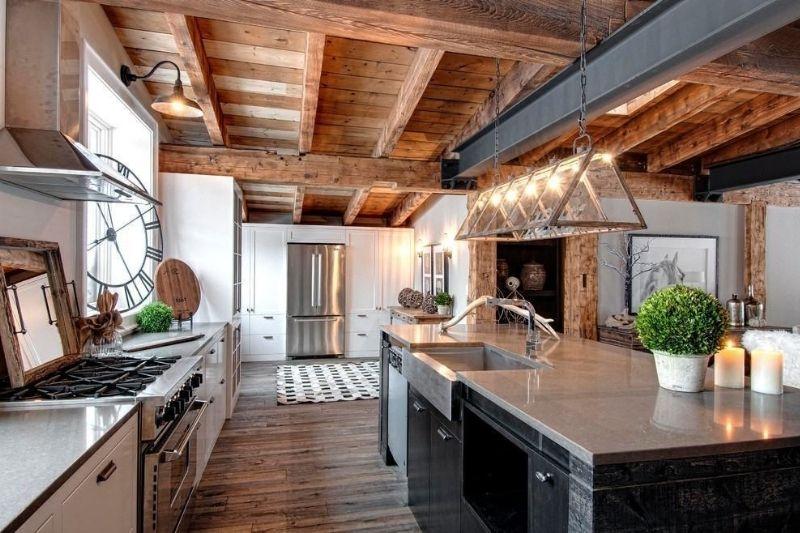 Cozinha Rústica Americana (5)