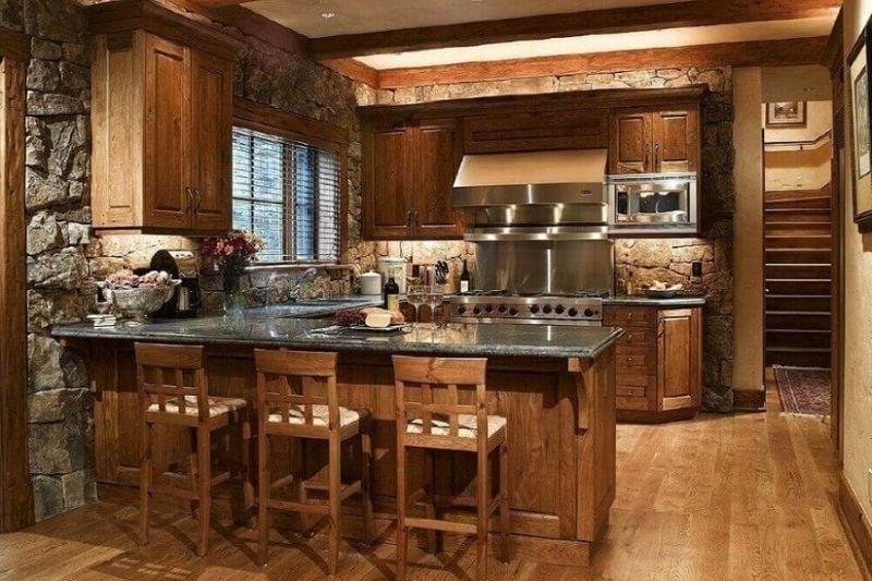 Cozinha Rústica Planejada (4)