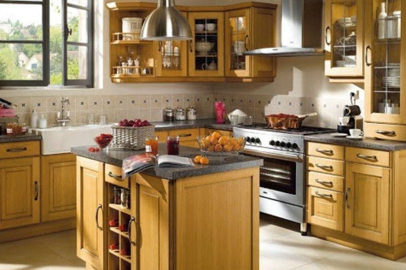 Cozinha Rústica Simples (2)