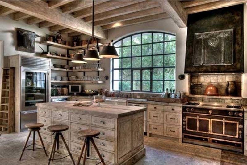 Cozinha Rústica Simples (3)