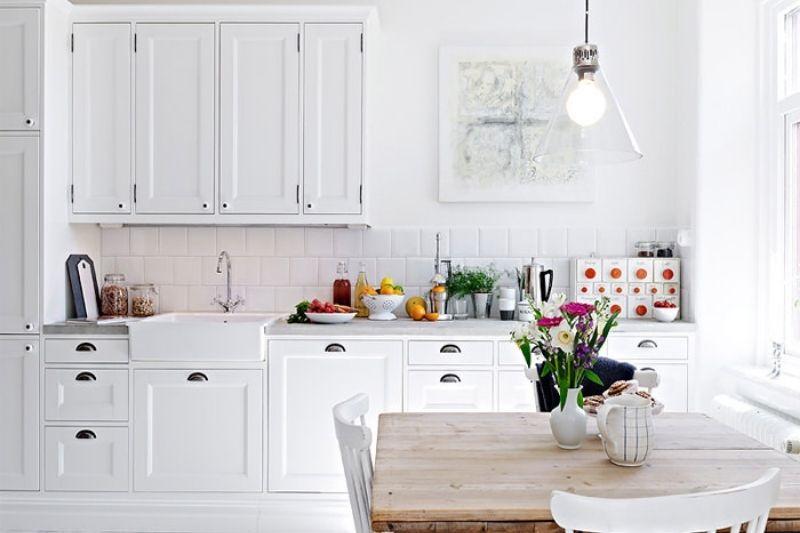 Cozinhas Rústicas Estilo Escandinavo (1)