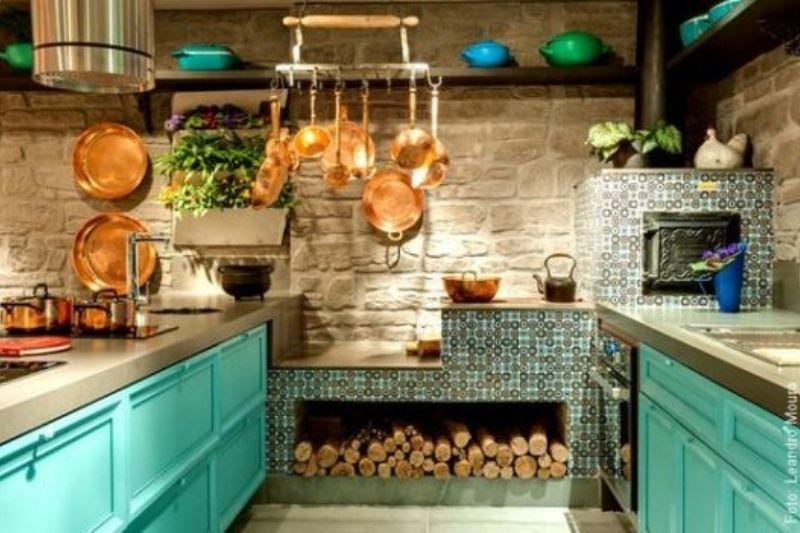 Cozinhs Rústicas Coloridas (5)
