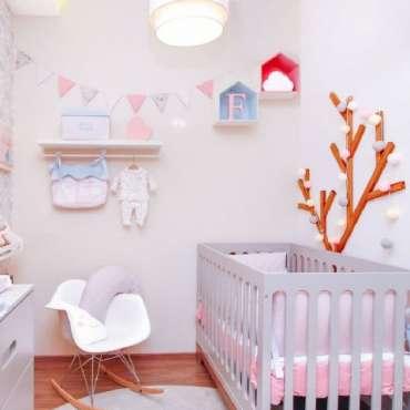 Decoração de Quarto de Bebê Feminino – Dicas e 50 Fotos!