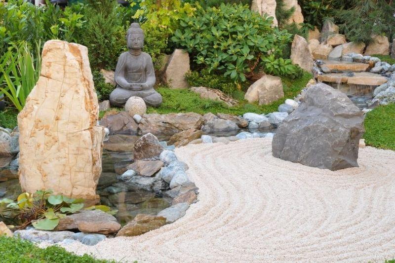 Esculturas Em Jardim Com Pedras Zen (1)
