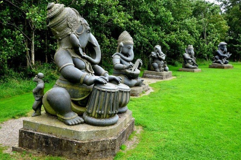 Esculturas Em Jardim Com Pedras Zen (2)