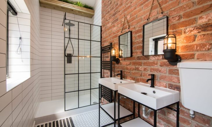 Estilo Industrial Nos Banheiros Planejados2