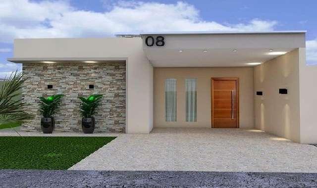Fachadas de Casas Modernas – 51 FOTOS INCRÍVEIS!