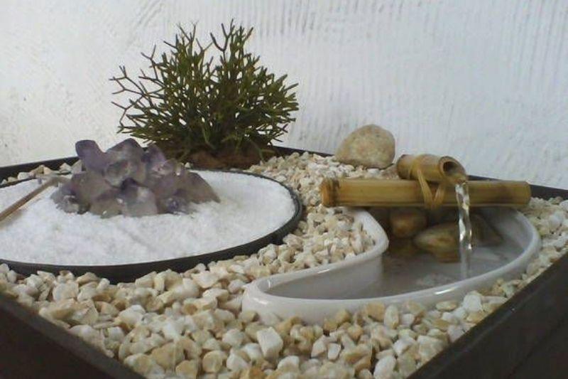 Fontes Jardim Com Pedras Zen (1)
