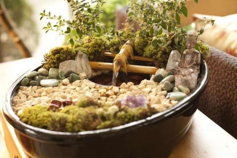 Fontes Jardim Com Pedras Zen (2)