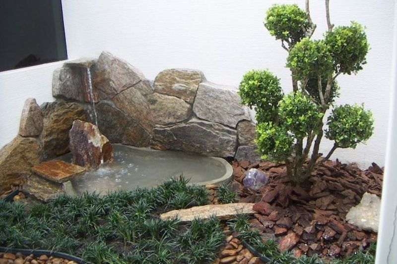 Fontes Jardim Com Pedras Zen (3)
