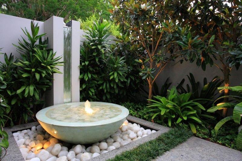 Fontes Jardim Com Pedras Zen (5)