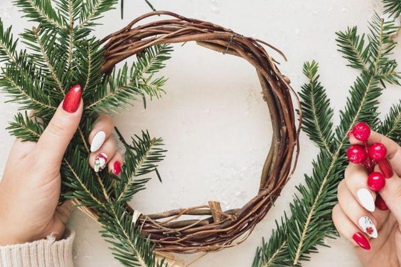 Fotos De Enfeites De Natal Com Pinhas (13)