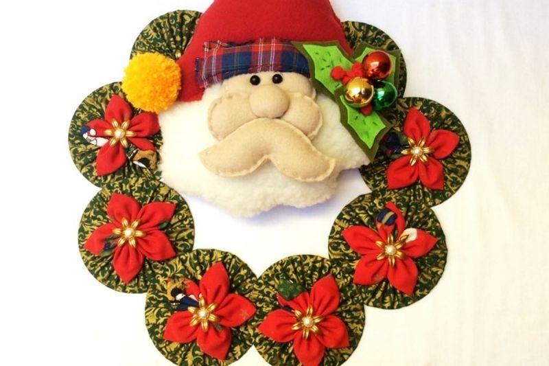 Fotos De Enfeites De Natal Com Pinhas (22)