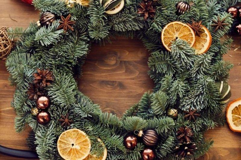 Fotos De Enfeites De Natal Com Pinhas (6)