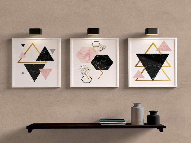 Geométrico E Pastel