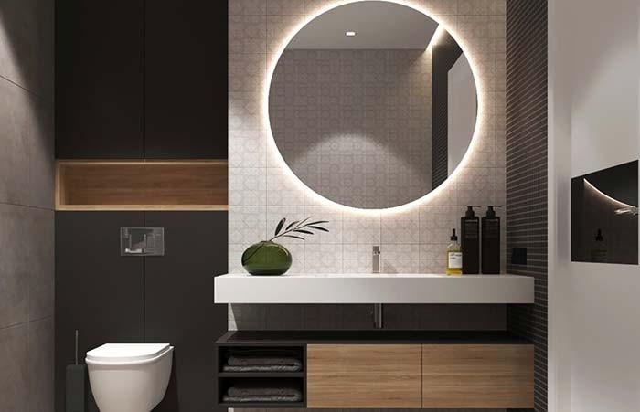 Iluminação E Tomadas Dos Projetos De Banheiros5