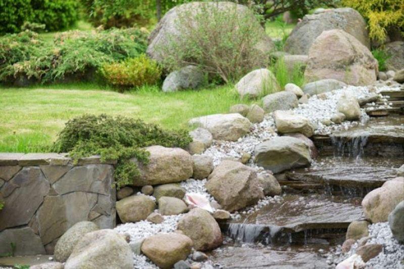 Jardim Com Pedras De Rio (5)