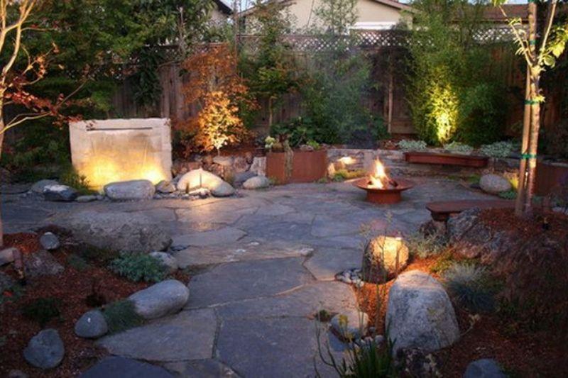 Jardim Com Pedras Grandes (3)