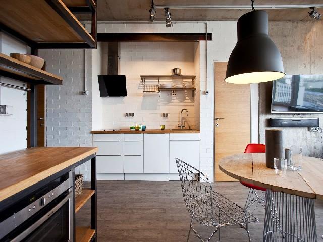 Os Balcões Na Cozinha Aberta5