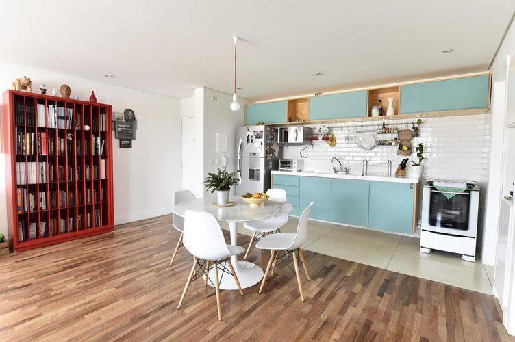 Sala e Cozinha Conjugada Simples