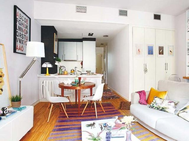 Sala E Cozinha Integradas Espaço Pequeno 10