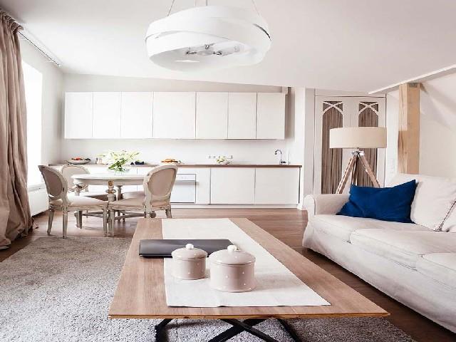 Sala E Cozinha Integradas Espaço Pequeno 11