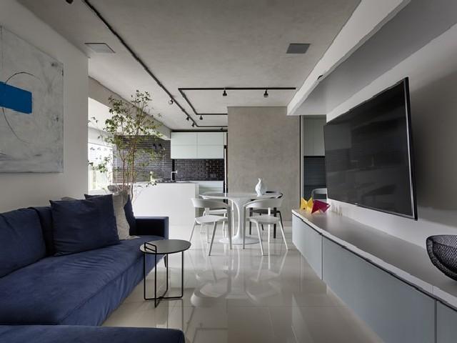 Sala e Cozinha Integradas Espaço Minimalistas
