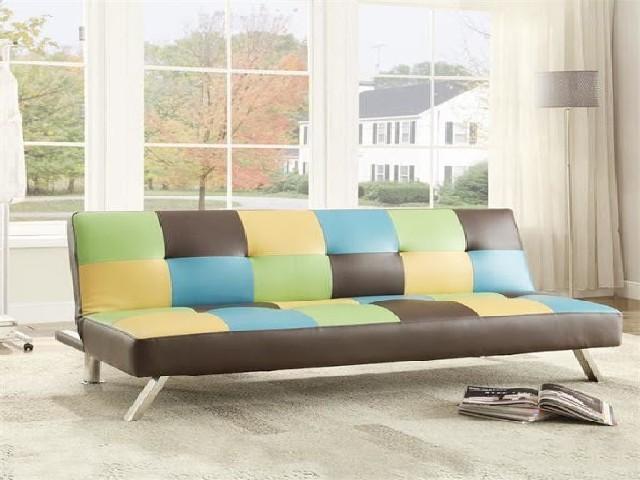 Sofá Cama Colorido 2