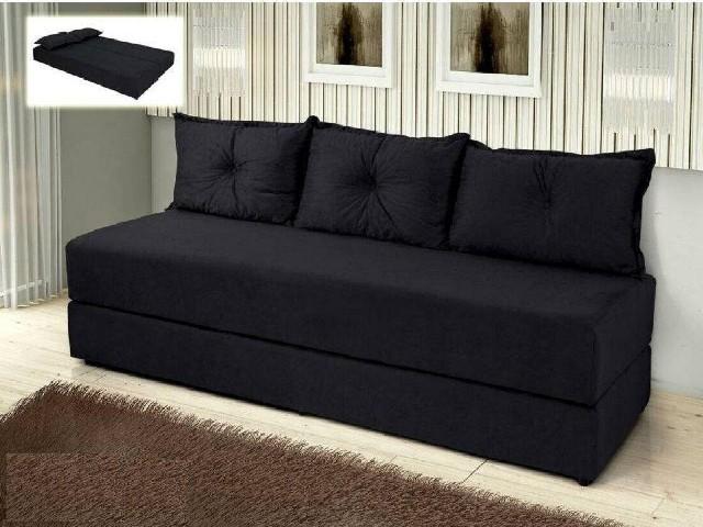 Sofa Cama Preto 1