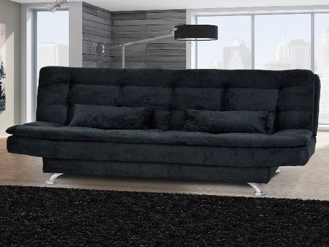 Sofa Cama Preto 4