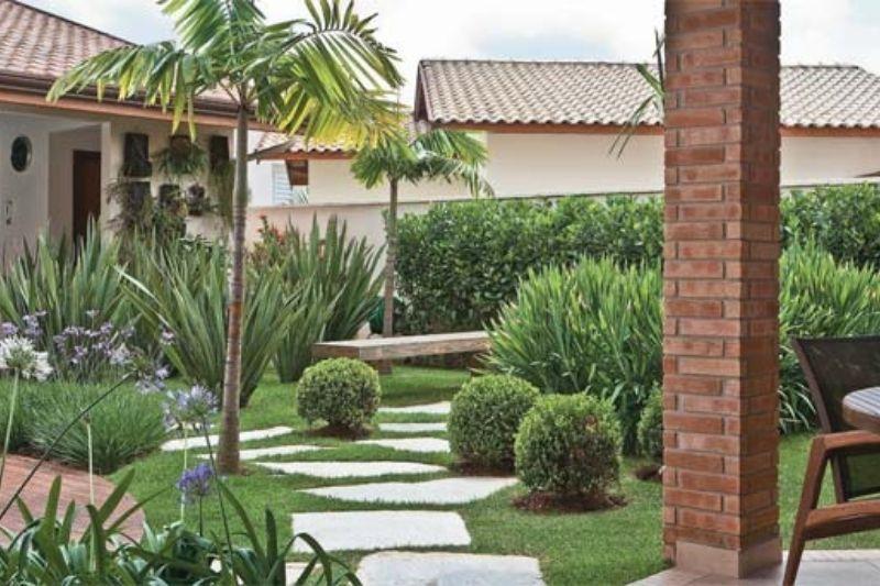 Trilhas Em Jardins Com Pedras (5)