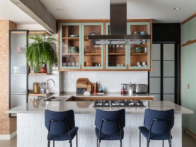 Vantagens De Uma Sala E Cozinha Integradas Espaço Pequeno