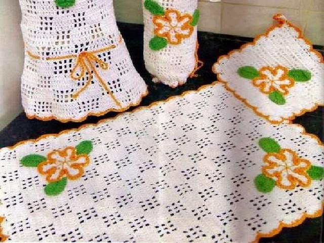 Crochês Nas Cozinhas 4