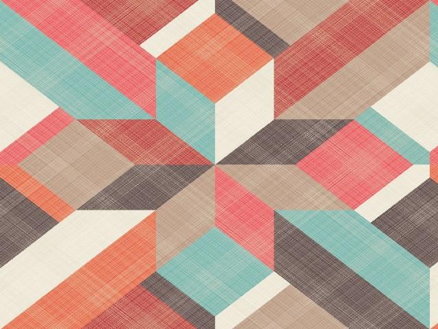 Desenhos Em Tecido Geométricos 2
