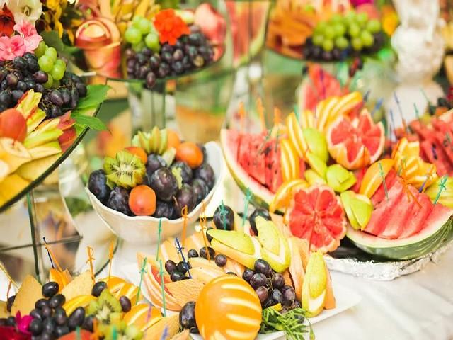 Festas Sofisticadas Com Decoração De Frutas