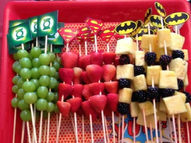 Festas De Criança Com Frutas 2